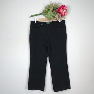 Ralph Lauren | Adelle Straight Leg Capri SZ 14